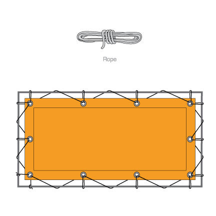 Panel Attachment Lashing