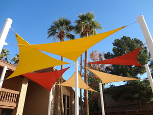 An example of an installed TS-912 shade sail