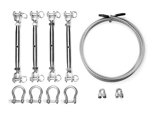 4 Corner - Turnbuckle Kit SS-12
