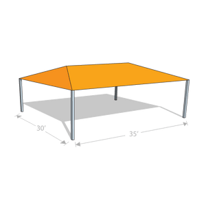 HS-3035 Hip Shade Structure - Tenshon