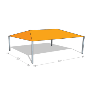 HS-3040 Hip Shade Structure - Tenshon
