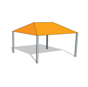 Custom Hip Shade Structure - Tenshon