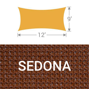 RS-912 Rectangle Shade Sail - Sedona