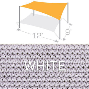 RS-912 Sail Shade Structure Kit - White