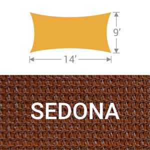 RS-914 Rectangle Shade Sail - Sedona