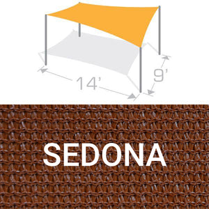 RS-914 Sail Shade Structure Kit - Sedona