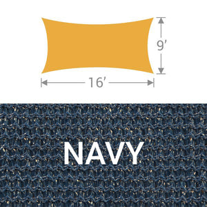 RS-916 Rectangle Shade Sail - Navy