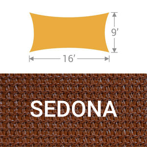 RS-916 Rectangle Shade Sail - Sedona