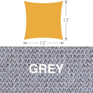 SS-12 Square Shade Sail - Grey