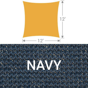 SS-12 Square Shade Sail - Navy