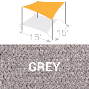 SS-15 Sail Shade Structure Kit - Grey