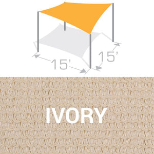 SS-15 Sail Shade Structure Kit - Ivory