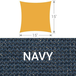SS-15 Square Shade Sail - Navy