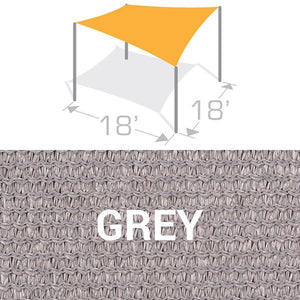 SS-18 Sail Shade Structure Kit - Grey