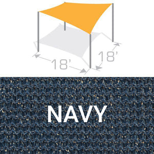 SS-18 Sail Shade Structure Kit - Navy