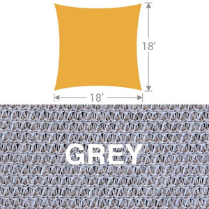 SS-18 Square Shade Sail - Grey