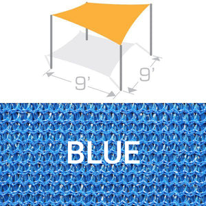 SS-9 Sail Shade Structure Kit - Blue