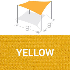 SS-9 Sail Shade Structure Kit - Yellow