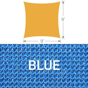 SS-9 Square Shade Sail - Blue