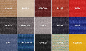 Shade Panel Cloth Color Options