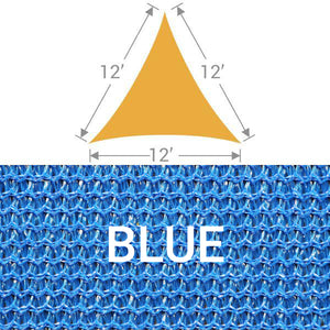 TS-12 Triangle Shade Sail - Blue