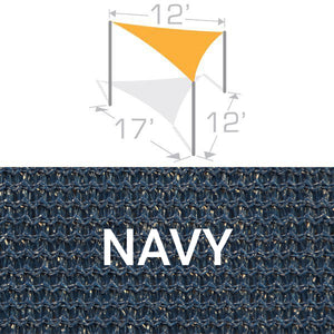 TS-1217 Sail Shade Structure Kit - Navy