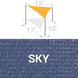 TS-1217 Sail Shade Structure Kit - Sky