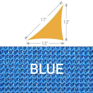 TS-1217 Triangle Shade Sail - Blue