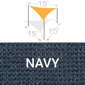 TS-15 Sail Shade Structure Kit - Navy