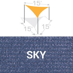TS-15 Sail Shade Structure Kit - Sky
