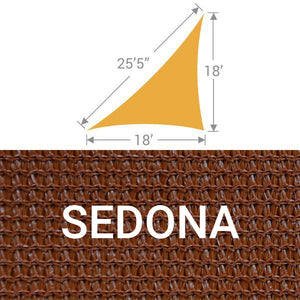 TS-1825 Triangle Shade Sail - Sedona