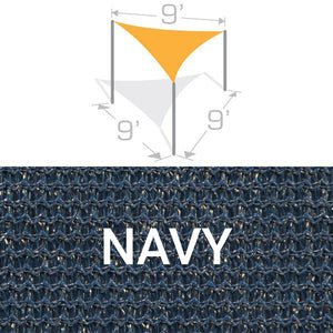 TS-9 Sail Shade Structure Kit - Navy
