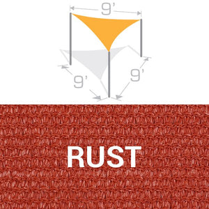 TS-9 Sail Shade Structure Kit - Rust