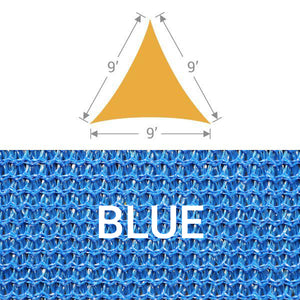 TS-9 Triangle Shade Sail - Blue