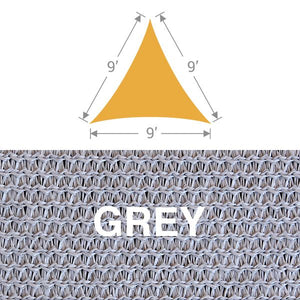 TS-9 Triangle Shade Sail - Grey