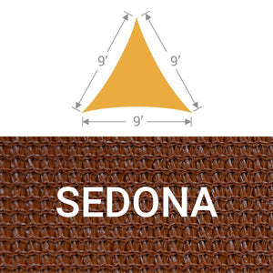 TS-9 Triangle Shade Sail - Sedona
