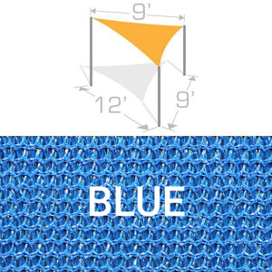 TS-912 Sail Shade Structure Kit - Blue