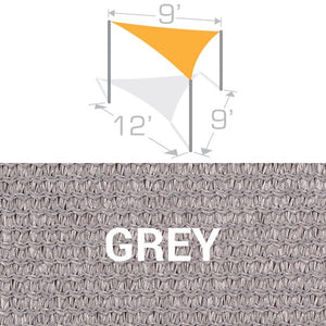 TS-912 Sail Shade Structure Kit - Grey
