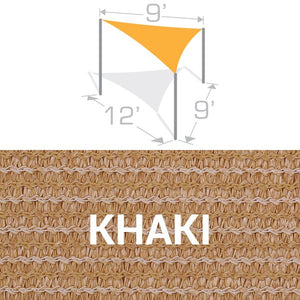 TS-912 Sail Shade Structure Kit - Khaki