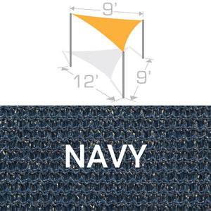 TS-912 Sail Shade Structure Kit - Navy