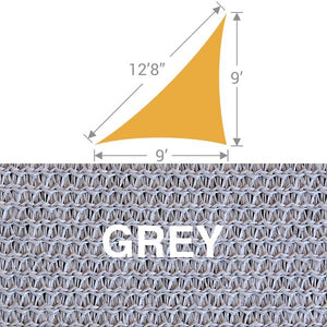 TS-912 Triangle Shade Sail - Grey