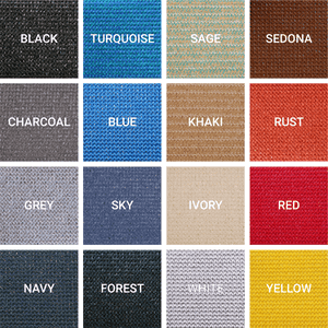 Square Shade Sail Fabric Colors