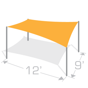 RS-912 Sail Shade Structure Kit - Tenshon