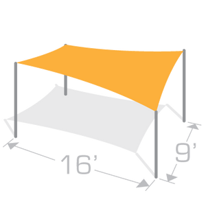 RS-916 Sail Shade Structure Kit - Tenshon