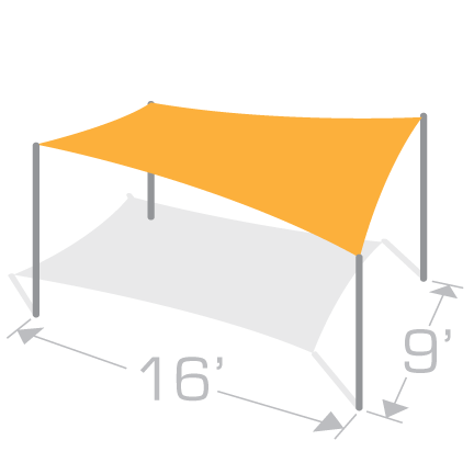 RS-916 Shade Structure Kit