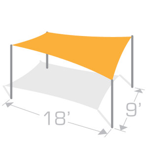 RS-918 Sail Shade Structure Kit - Tenshon