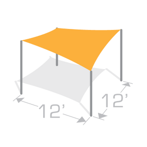 SS-12 Sail Shade Structure Kit - Tenshon