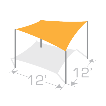 SS-12 Shade Structure Kit