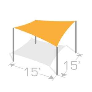 SS-15 Sail Shade Structure Kit - Tenshon