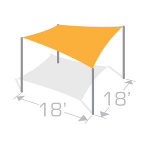 SS-18 Sail Shade Structure Kit - Tenshon